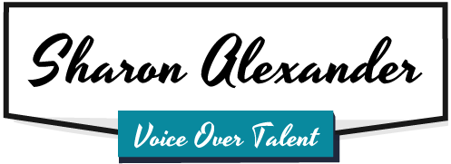 Sharon Alexander Voice Over Talent Logo