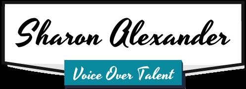 Sharon Alexander Voice Over Talent Logo