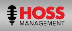 Sharon Alexander Voice Over Talent Hoss Management Logo